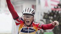 Americký cyklista Chris Horner.