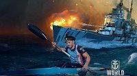 Český kanoista Josef Dostál, držitel tří olympijských medailí, si rád vyčistí hlavu u videoher, zálibu našel ve hře World of Warships.