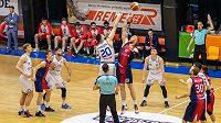 Basket Brno - USK Praha, ilustrační foto.