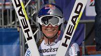 Lindsey Vonnová, vítězka super-G v Garmisch-Partenkirchenu.