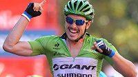 Německý cyklista John Degenkolb oslavil na letošní Vueltě již čtvrtý etapový triumf.