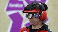 Soustředění sportovní střelkyně Lenky Maruškové
