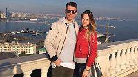 Zdeněk Folprecht s přítelkyní Pavlou v Ázerbájdžánu.