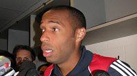 Francouzský fotbalista Thierry Henry