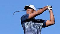 Americký golfista Tiger Woods na turnaji Farmers Insurance Open