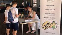Burgrová vysvětluje mladým sportovcům nebezpečí dopingu