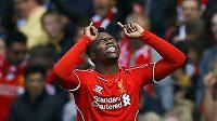 Daniel Sturridge jásá, dal rozhodující gól Liverpoolu proti Southamptonu.