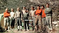 Čeští horolezci před osudnou tragédií v Peru. Přesně před padesáti lety.