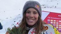 Eva Samková vykročila za obhajobou triumfu ve Světovém poháru výhrou v Montafon
