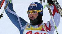 Francouzský biatlonový král Martin Fourcade.