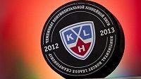 Oficiální puk Kontinentální hokejové ligy.