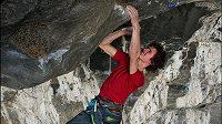 Adam Ondra v cestě Change s obtížností 9b+ v norském Flatangeru.