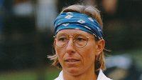 Tenistka Martina Navrátilová