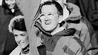 Michael Edwards v roce 1988 na OH v Calgary.