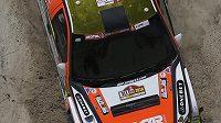 Martin Prokop na trati 10. etapy Rallye Dakar.