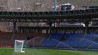 Stadión republiky v Jerevanu, kde se bude hrát úterní kvalifikační utkání Arménie-Česko.