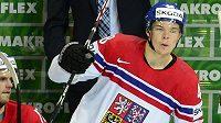 Útočník české hokejové reprezentace Tomáš Hertl.