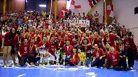 FK ERA-PACK Chrudim - mistr CHANCE futsal ligy 2014/2015.