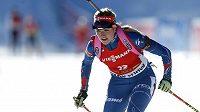 Česká biatlonistka Gabriela Soukalová obsadila v nedělním závodu s hromadným startem ve slovinské Pokljuce čtvrté místo.