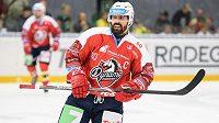 Kapitán pardubických hokejistů Tomáš Rolinek.