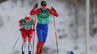 Český lyžař Matin Jakš na ZOH v Pchjongčchangu.