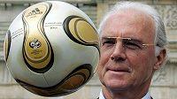 Franz Beckenbauer na archivním snímku z doby před MS 2006.