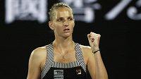 Karolína Plíšková je na Australian Open v osmifinále
