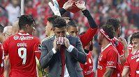 Benfica Lisabon získala počtvrté za sebou titul v portugalské fotbalové lize.