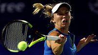 Caroline Wozniacká ve finále turnaje v Dubaji.