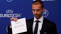 Fotbalové mistrovství Evropy v roce 2024 bude hostit Německo.