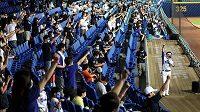 Fanoušci na Tchaj-wanu opět mohou sledovat sportovní zápasy na stadionech. Do hlediště jich však smí nejvýš tisíc a na tribunách musejí vzhledem k nebezpečí šíření koronaviru dodržovat bezpečnostní odstupy.