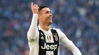 Cristiano Ronaldo září v Juventusu.