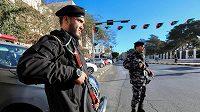 Libyjské bezpečnostní síly v Tripolisu. Ilustrační foto.
