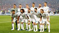 Real Madrid před finále Ligy mistrů.