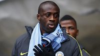 Yaya Touré z Manchesteru City.