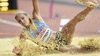 Darja Klišinová do dálkařské soutěže na MS v Dauhá nezasáhne.