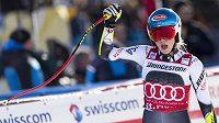 Radost americké lyžařky Mikaely Shiffrinové.