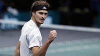 Německý tenista Alexander Zverev vyřadil v Paříži nasazenou jedničku Španěla Nadala.