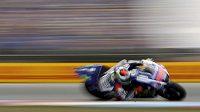 Jorge Lorenzo stanovil v kvalifikaci na brněnskou GP nový rychlostní rekord Masarykova okruuh.