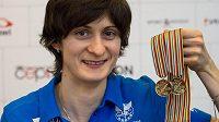 Martina Sáblíková přivezla dvě zlaté medaile z MS.