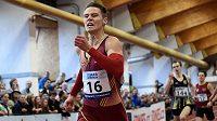 Pavel Maslák se během halového mistrovství republiky ve Stromovce blýskl nejlepším výkonem roku v závodu na 400 metrů.