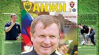 Pavel Vrba byl ústřední postavou úvodního ligového duelu Machačkaly s CSKA Moskva...