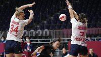 Házenkářky Norska postoupily do čtvrtfinále OH bez ztráty bodu
