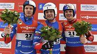 Světový pohár sáňkařů vyhrál Rus Pavličenko