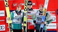 Riiber vyhrál v Lillehammeru i třetí závod a s přehledem vede SP