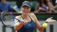 Ruska Maria Šarapovová na letošním French Open.