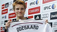 Norský fotbalový talent Martin Ödegaard už patří Realu Madrid.