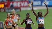 Keňanka Eunice Sumová vyhrála na Diamantové lize v Paříži závod na 800 metrů.
