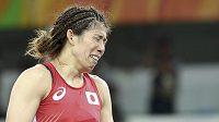 Zápasnice Jošidaová na další zlatou medaili nedosáhla.