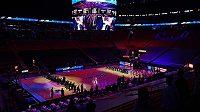 Basketbalisté Bostonu a Miami poklekli během americké hymny před duelem NBA.